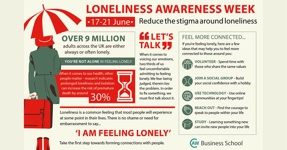 Loneliness Awareness Week: 5 ways to feel more connected to others