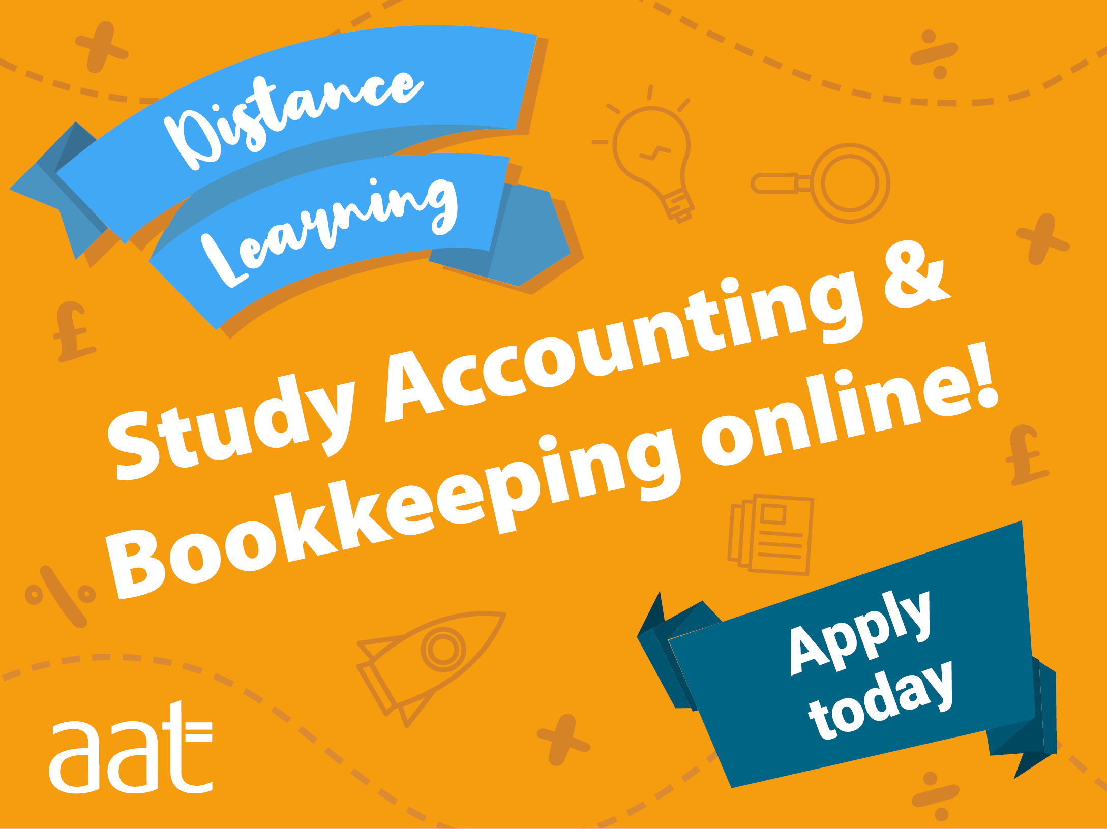 AAT Accounting and Bookkeeping Distance Learning