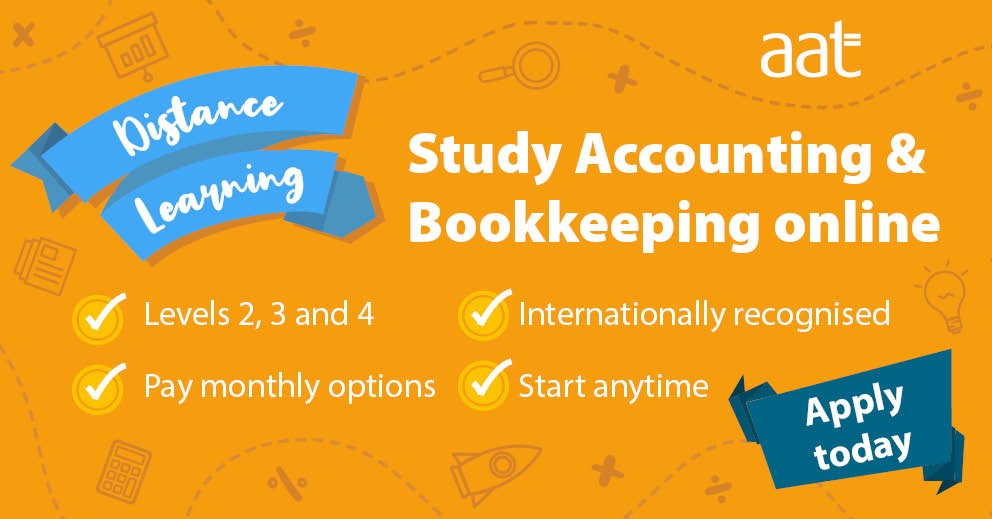 Bookkeeping and Accountancy training available to study remotely