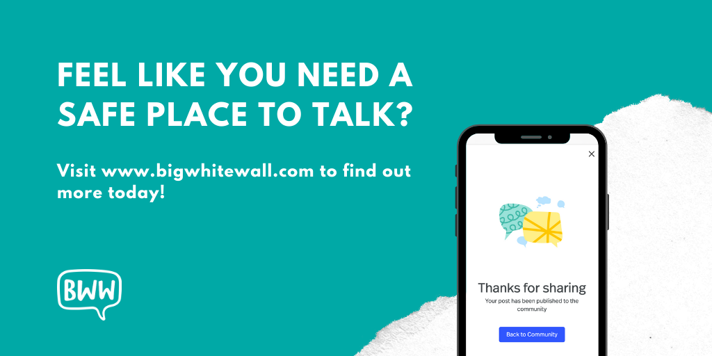 Gain free mental health support through Big White Wall